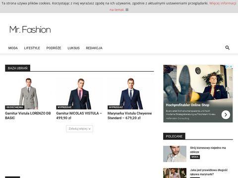 Mr. Fashion - świat mody męskiej