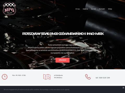 MPG serwis - serwis samochodów amerykańskich