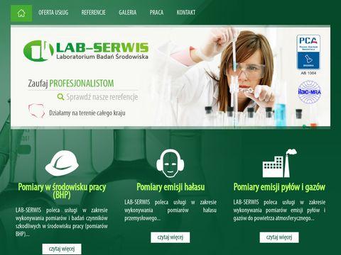 Lab-Serwis - pomiary emisji hałasu