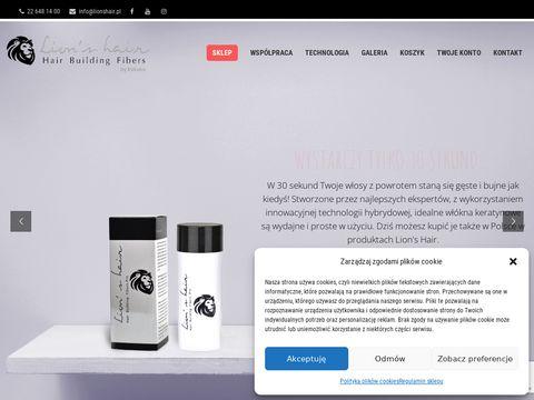 Lionshair.pl - posypka na włosy