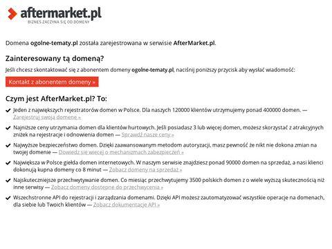 Ogolne-tematy.pl forum wielotematyczne