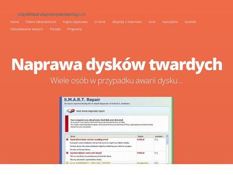 Odzyskiwaniedanychzdyskutwardego.pl