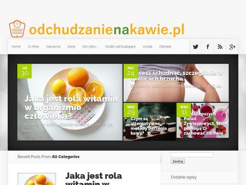 Odchudzanienakawie.pl - chudnij z zieloną kawą