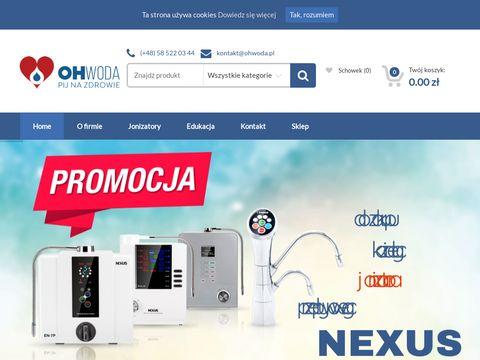 Ohwoda.pl jonizatory wody