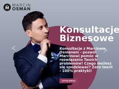 Marcin Osman - szkolenia managerskie