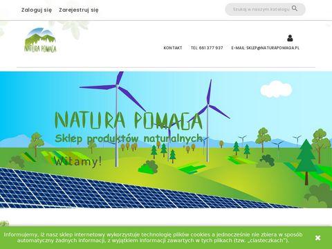 NaturaPomaga.pl internetowy sklep z ziołami