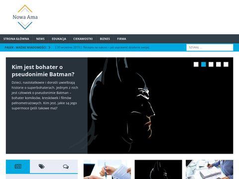 Nowa-ama.pl - nurkowe ubezpieczenia