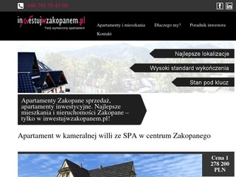 Inwestujwzakopanem.pl
