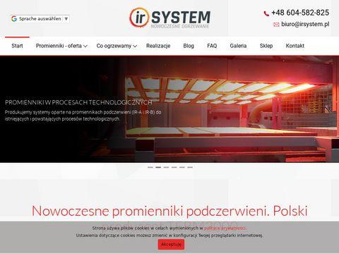 Irsystem.pl - promiennik podczerwieni