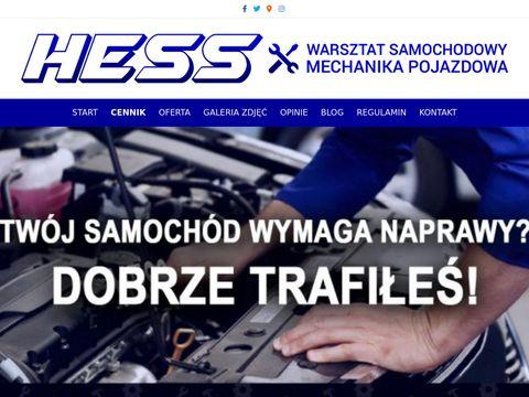 Hess.com.pl warsztat 24h Warszawa