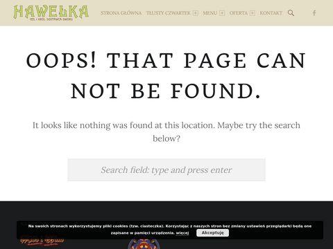 Hawelka.pl - restauracja Kraków