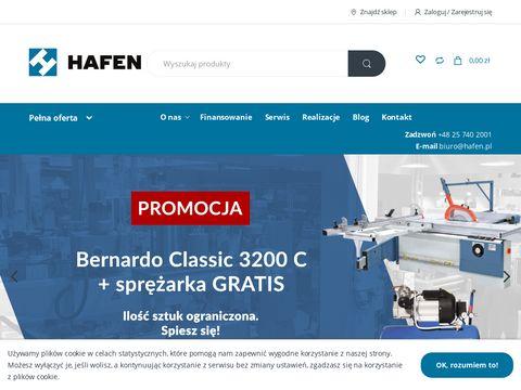 Hafen.pl - szlifierki do płaszczyzn bernardo