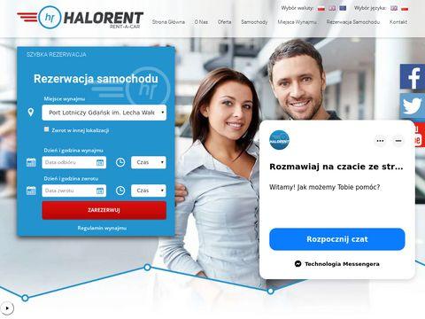 Wypożyczalnia samochodów w Trójmieście - Halorent