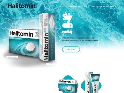 Tabletki Halitomin