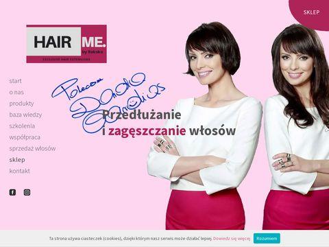 Hairme.pl - akcesoria do przedłużania włosów