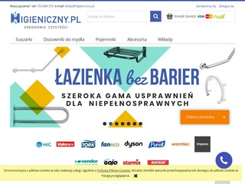 Higieniczny.pl lampy owadobójcze cena