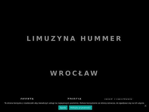 Hummerwroclaw.pl limuzyna na 17 osób
