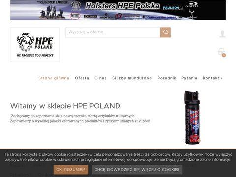 Holsters HPE Polska - akcesoria obronne