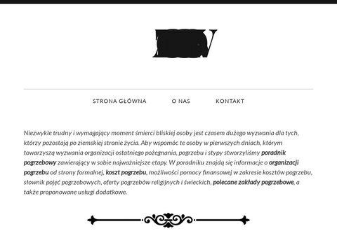 Katalogpogrzebowy.com - znajdź zakład