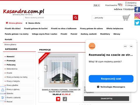 Kasandra.com.pl - firanki do kuchni