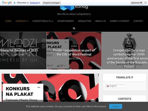 Kanag.pl - największy zbiór konkursów
