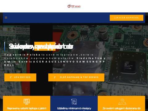 Top Serwis - serwis laptopów dell