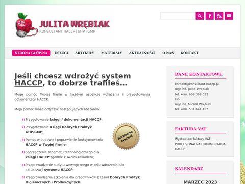 Konsultant HACCP