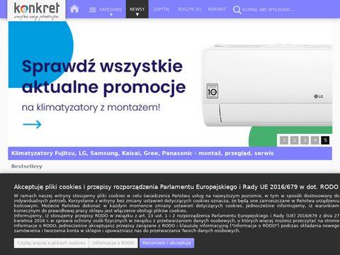 Konkret klimatyzacja Kraków - dobór i instalacja
