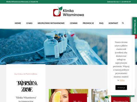 Klinikawitaminowa.pl kroplówki
