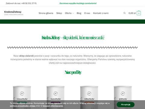 Mieszanki ziołowe i suplementy - KredensZiołowy