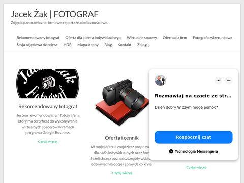 Business view rekomendowany fotograf Jacek Żak