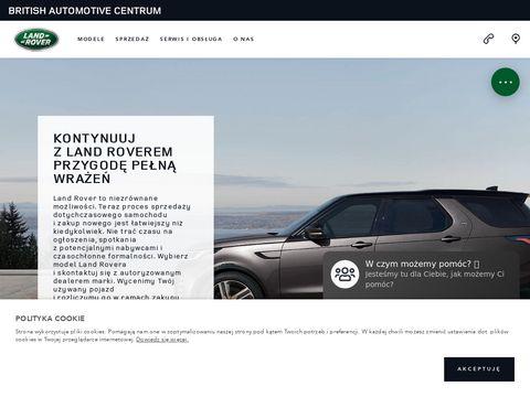 Jlrcentrum.landrover.pl land rover, range rover
