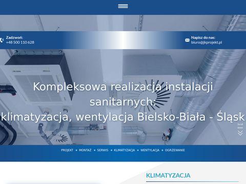 Jkprojekt.pl montaż wentylacji Bielsko