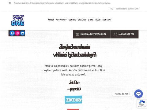 Justdive.com.pl profesjonalna szkoła nurkowania