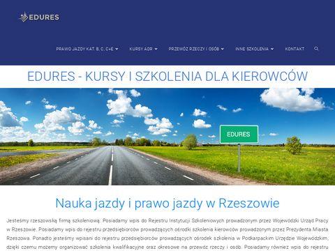 Edures.pl Nauka jazdy