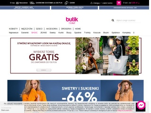 Sklepy z ubraniami - ebutik.pl