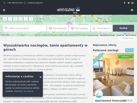 Noclegi w Zakopanem - baza noclegowa enoclegi.biz