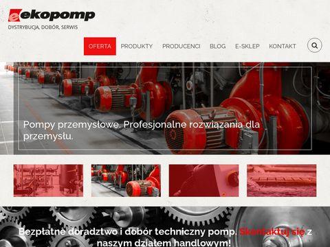 Ekopomp - pompy przemysłowe