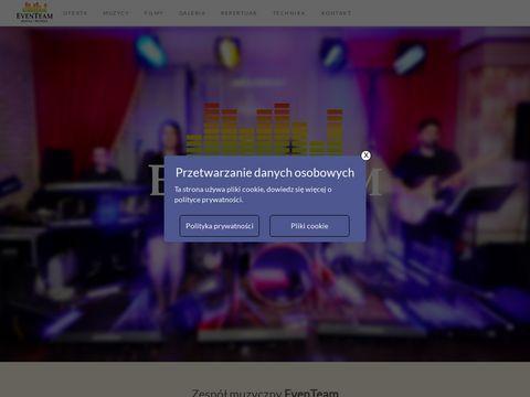 Eventeam.net.pl zespół muzyczny Lublin