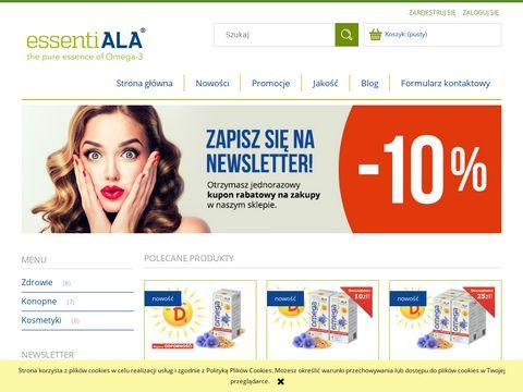 Bioestry kwasów omega - essentiala3.pl