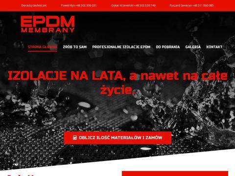 Epdmmembrany.pl uszczelniające pokrycia dachowe