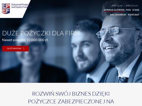 Pożyczki pozabankowe dla firm - Epef.pl