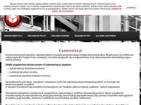 Owijarki do palet na e-pakowarka.pl