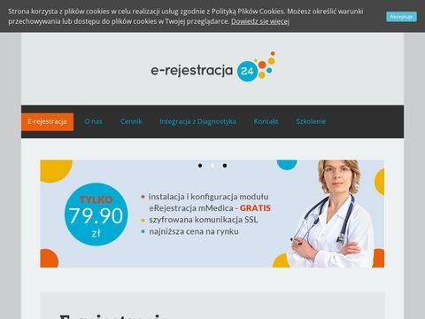 Program dla przychodni E-rejestracja24.eu