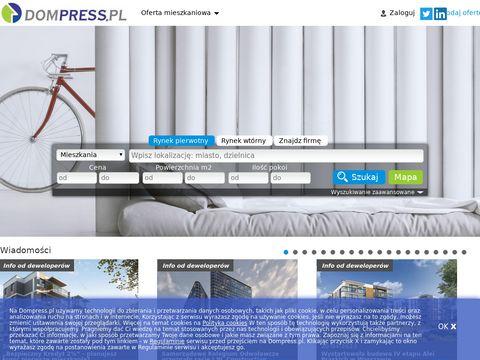 Dompress.pl - mieszkania na sprzedaż