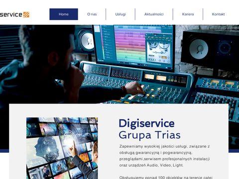 Digiservice.pl serwis projektorów