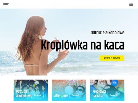 Drdrip.pl kroplówka na kaca Gdynia