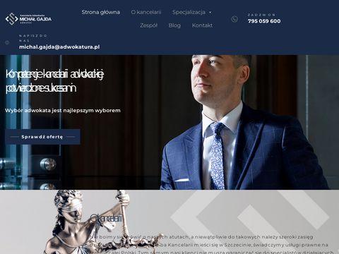 Gajda-adwokat.pl - prawo karne adwokat Szczecin