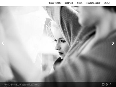 Grzegorz Milej - zdjęcia ślubne Kraków