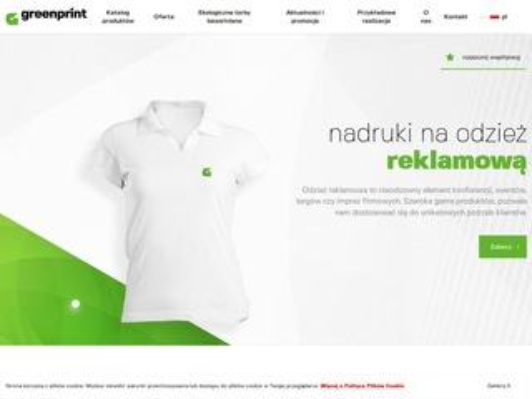 Parasole reklamowe - Greenprint